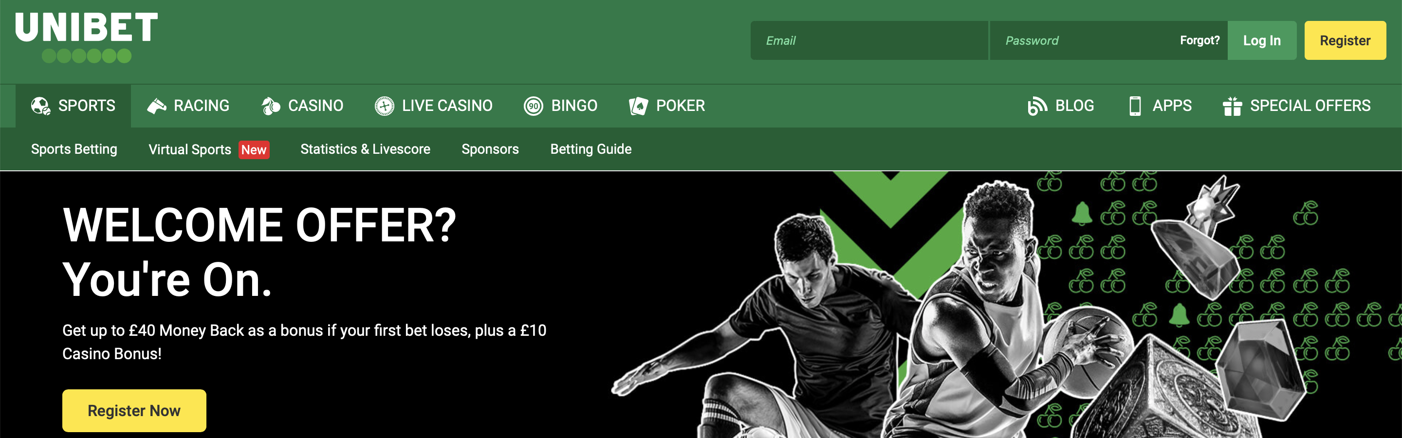 UniBet UK Betting Site