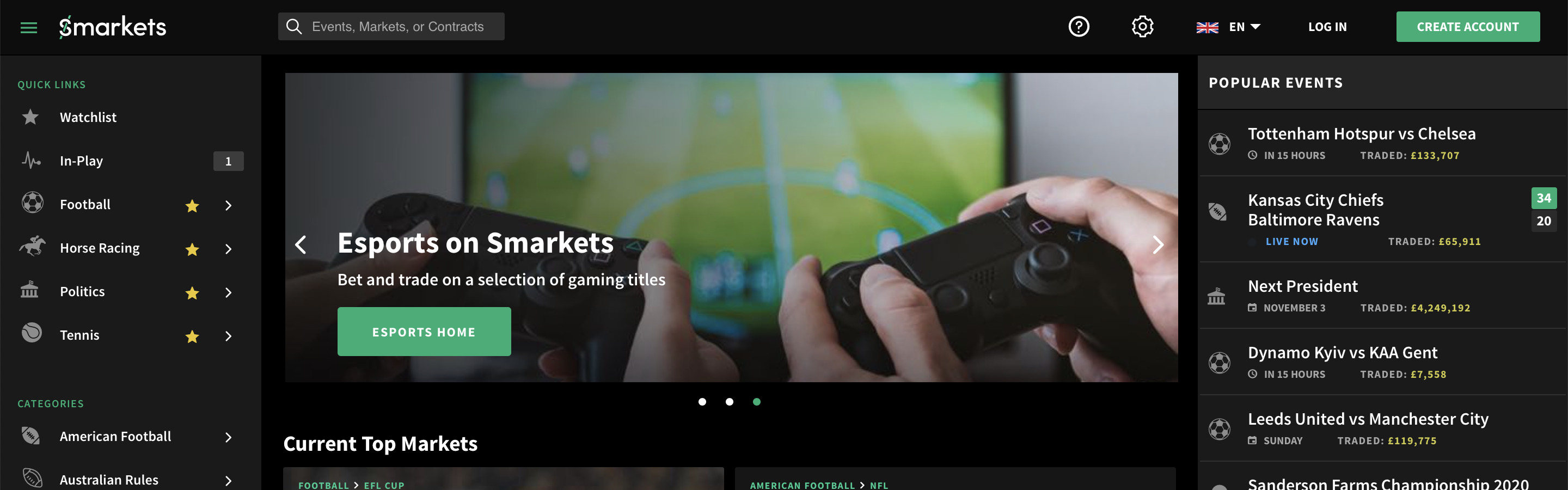 Smarkets Betting Exchange Introduction